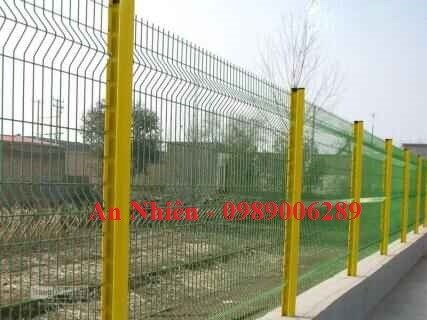 Sản xuất hàng rào thép nhúng nhựa, hàng rào sơn tĩnh điện3