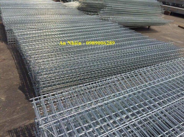 Sản xuất hàng rào thép nhúng nhựa, hàng rào sơn tĩnh điện1