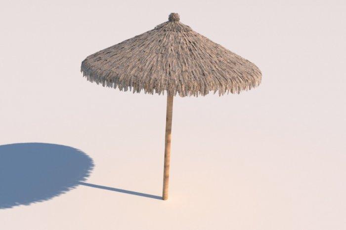 Ô dù bãi biển, bán ô dù bãi biển bằng tre lá, dù che bãi biển4