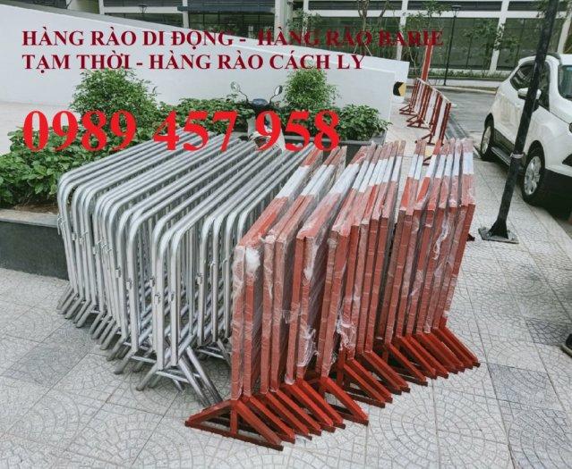 Rào chắn barie, hàng rào di động 1mx2m, 1,5mx2m3
