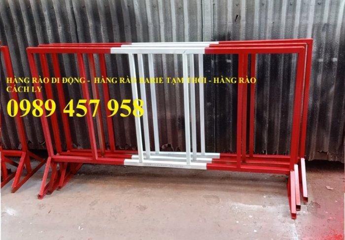 Rào chắn barie, hàng rào di động 1mx2m, 1,5mx2m1
