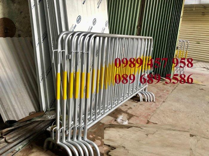 Rào chắn barie, hàng rào di động 1mx2m, 1,5mx2m0