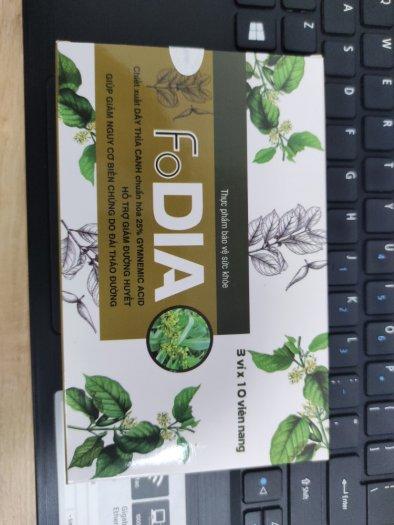 Fodia - Viên uống giảm, ổn định đường huyết và ngăn ngừa biến chứng tiểu đường4