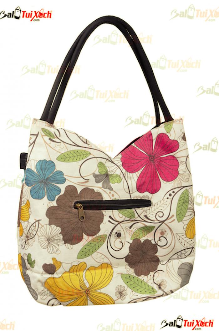 Túi xách vải hàng xuất khẩu - BLTX01 - Mẫu 5