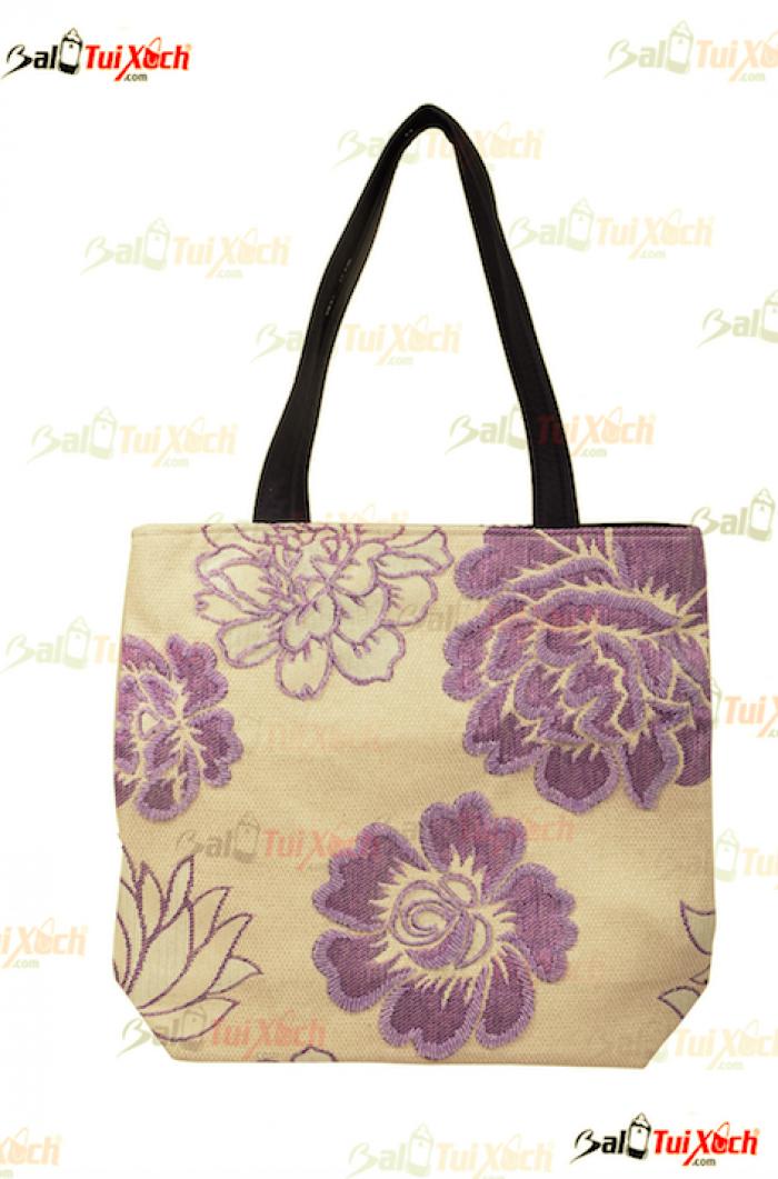 Túi xách vải hàng xuất khẩu - BLTX01 - Mẫu 7