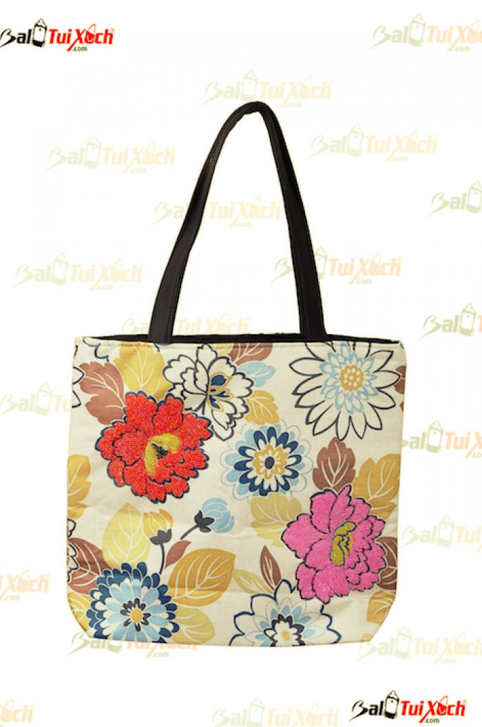 Túi xách vải hàng xuất khẩu - BLTX01 - Mẫu 8
