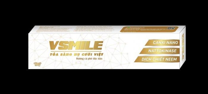 Kem đánh răng Vsmile hương vị caphe độc đáo ngăn (ngừa đột quỵ)1