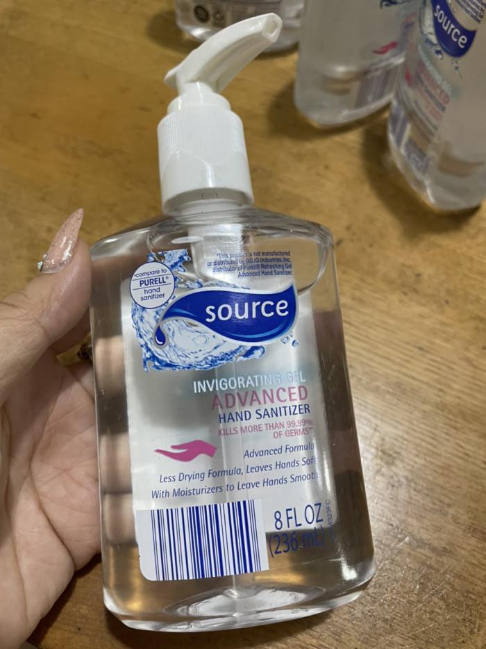 Nước rửa tay diệt khuẩn Mỹ - Gel rửa tay khô Source 236ml - Ảnh: 21
