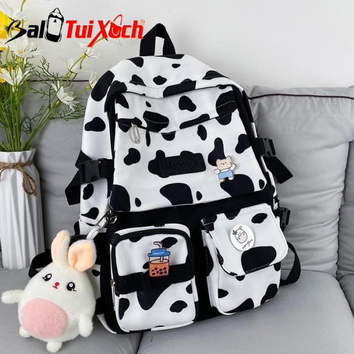 Balo bò sữa - cặp sách bò sữa - BLTX08 - Ảnh: 4