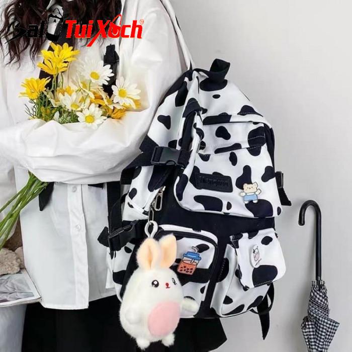 Balo bò sữa - cặp sách bò sữa - BLTX08 - Ảnh: 5