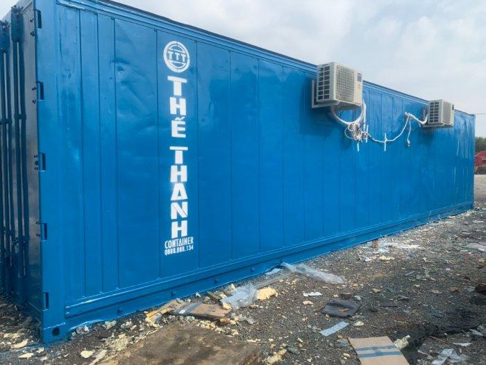 Container lạnh sử dụng điện 1 pha làm kho mát2