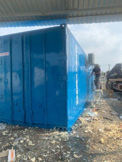 Container lạnh sử dụng điện 1 pha làm kho mát1