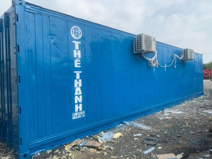 Container lạnh sử dụng điện 1 pha làm kho mát0