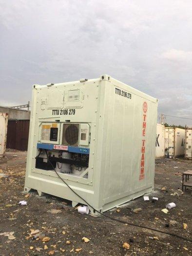 Container lạnh bảo quản thị cá hàng đông lạnh0