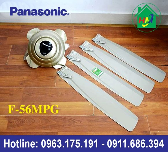 Quạt Trần 4 Cánh Điều Khiển Cao Cấp Panasonic F-56MPG4
