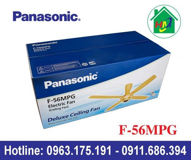 Quạt Trần 4 Cánh Điều Khiển Cao Cấp Panasonic F-56MPG2