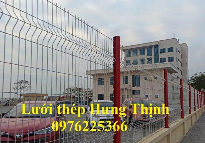 Lưới thép hàng rào chấn sóng D5 A50x200, D4 A50x15012