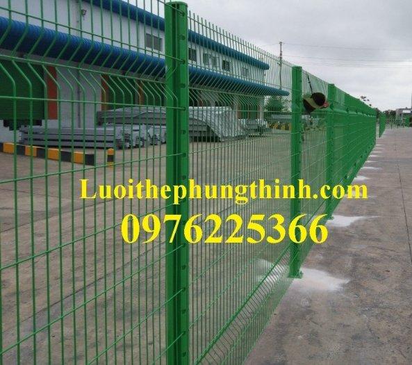 Lưới thép hàng rào chấn sóng D5 A50x200, D4 A50x15010