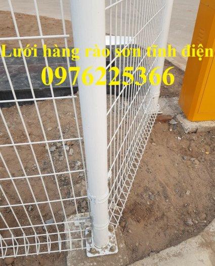 Lưới thép hàng rào chấn sóng D5 A50x200, D4 A50x1509