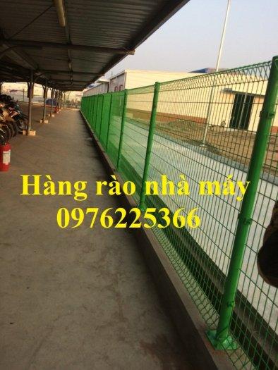 Lưới thép hàng rào chấn sóng D5 A50x200, D4 A50x1507