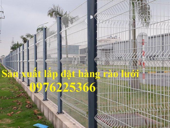 Lưới thép hàng rào chấn sóng D5 A50x200, D4 A50x1506