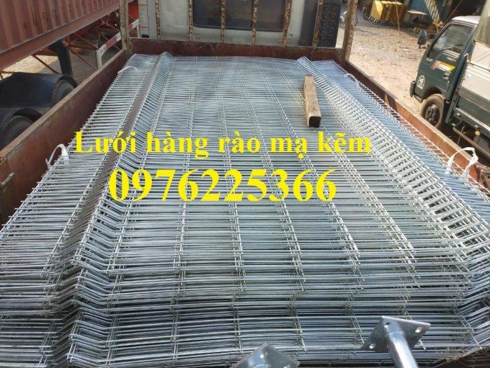 Lưới thép hàng rào chấn sóng D5 A50x200, D4 A50x1500