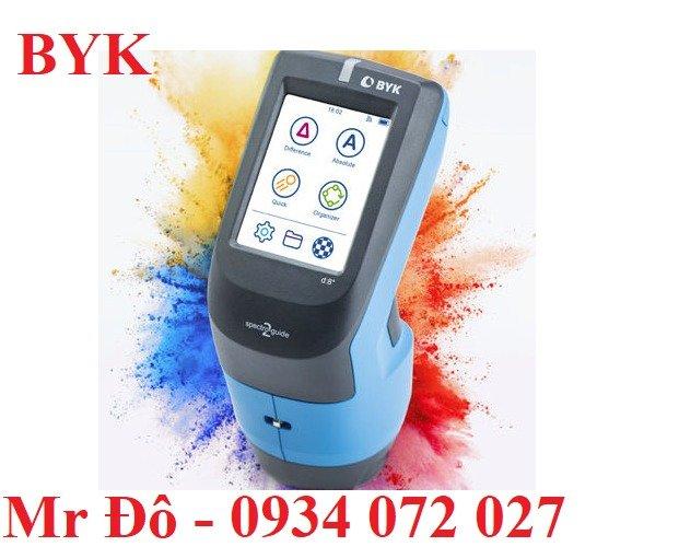Máy đo màu sắc BYK | Đo độ dày và độ bóng7