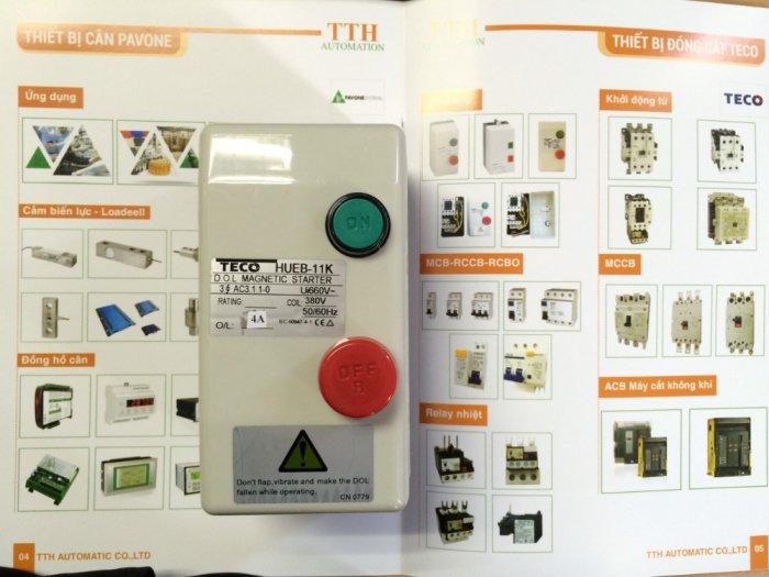 HUEB-11 Khởi động từ hộp TECO - Giá đại lý3