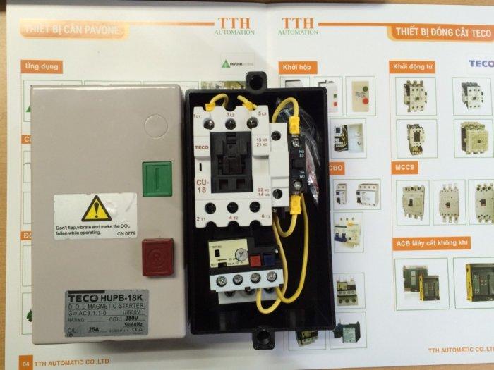 HUEB-11 Khởi động từ hộp TECO - Giá đại lý1