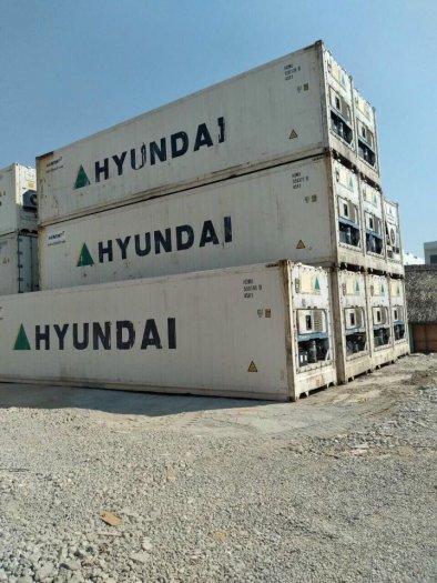 Container lạnh bảo quản thịt heo hàng cấp đông2