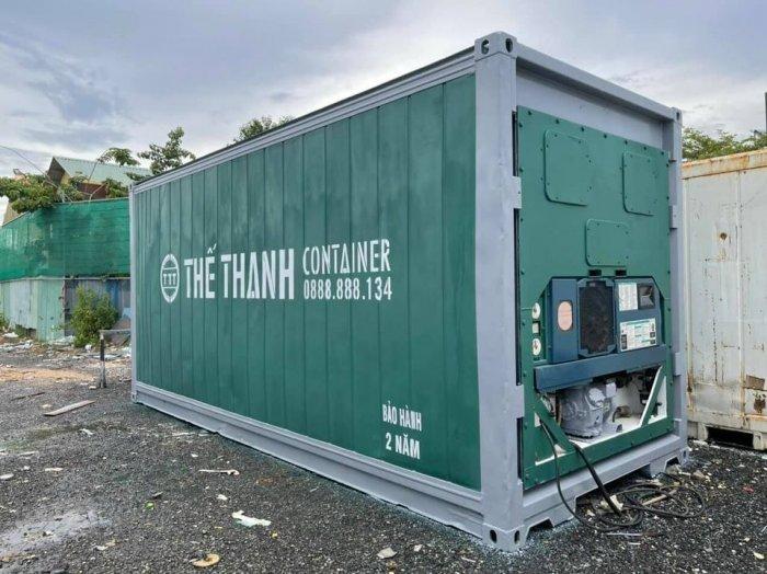 Container lạnh bảo quản thịt heo hàng cấp đông1
