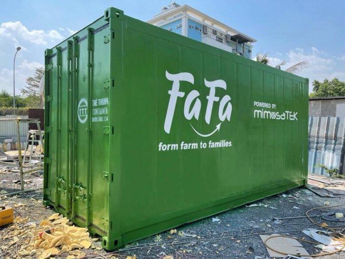 Container lạnh bảo quản thịt heo hàng cấp đông0