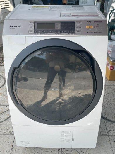 Máy giặt PANASONIC VX850SL giặt 10kg Sấy 6kg Date 2015, giặt nước nóng, Sấy block, Tiết kiệm điện0