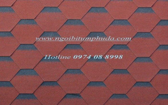 Tấm lợp bitum nhập khẩu thổ nhĩ kỳ, tấm lợp bitum dán mái giả ngói đá lai châu giá tốt14