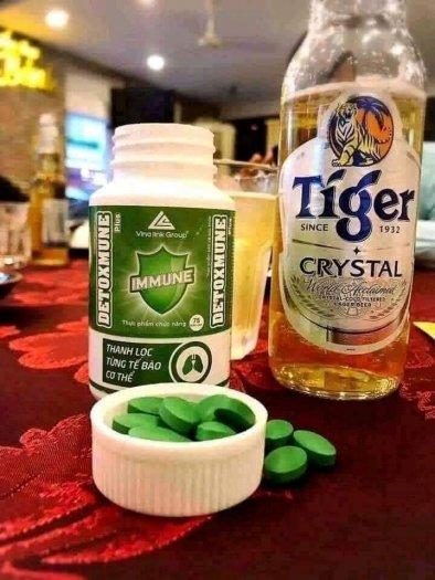 Detoxmune giúp cải thiện chức năng gan, đào thải độc tố giúp tăng cường sức khỏe6