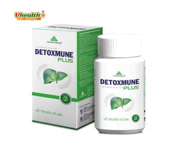 Detoxmune giúp cải thiện chức năng gan, đào thải độc tố giúp tăng cường sức khỏe2