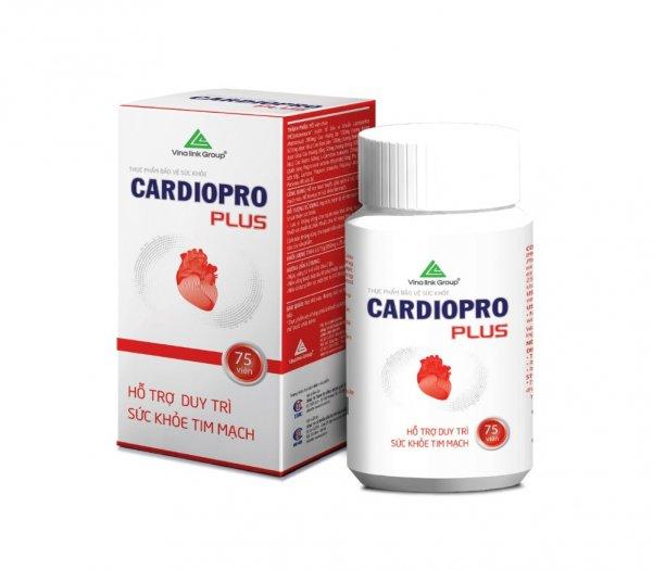 Cardiopro chăm sóc bảo vệ hệ tim mạch1