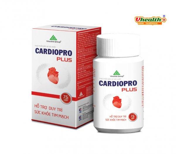 Cardiopro chăm sóc bảo vệ hệ tim mạch0