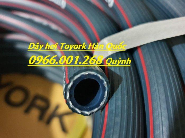 Phân phối dây hơi Toyork phi 8mm , cuộn dài 100m , dây hơi Hàn Quốc chịu áp lực cao9