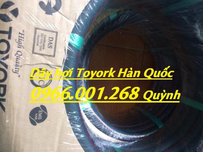 Phân phối dây hơi Toyork phi 8mm , cuộn dài 100m , dây hơi Hàn Quốc chịu áp lực cao6