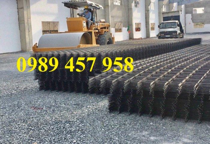 Sản xuất lưới thép đổ sàn tại Hà Nội, Lưới thép hàn chập phi 4, phi 5, phi 6, phi 88
