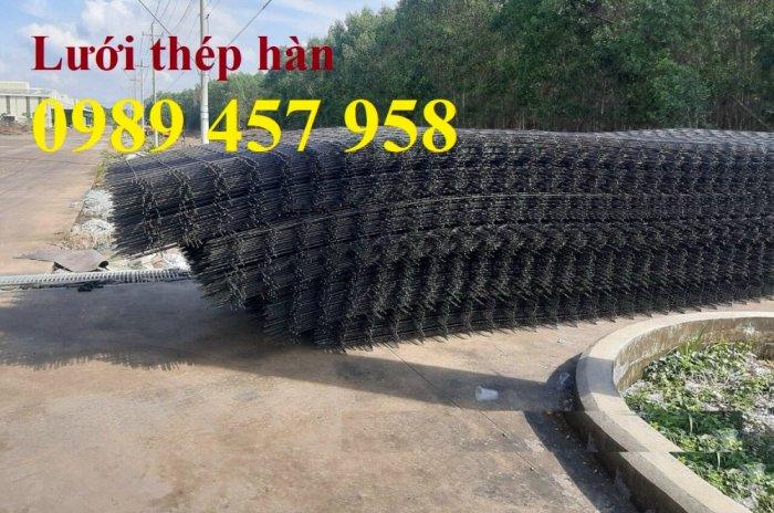 Sản xuất lưới thép đổ sàn tại Hà Nội, Lưới thép hàn chập phi 4, phi 5, phi 6, phi 87
