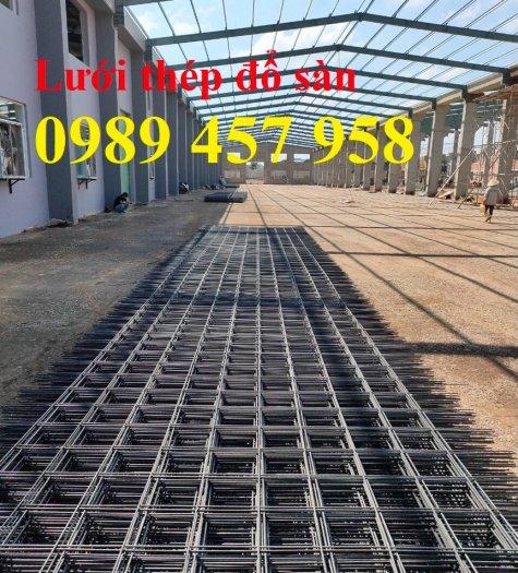 Sản xuất lưới thép đổ sàn tại Hà Nội, Lưới thép hàn chập phi 4, phi 5, phi 6, phi 86