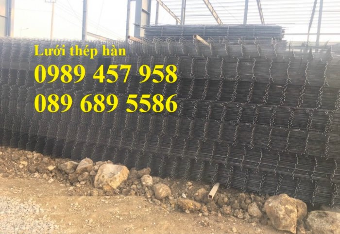Sản xuất lưới thép đổ sàn tại Hà Nội, Lưới thép hàn chập phi 4, phi 5, phi 6, phi 85