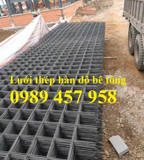 Sản xuất lưới thép đổ sàn tại Hà Nội, Lưới thép hàn chập phi 4, phi 5, phi 6, phi 83