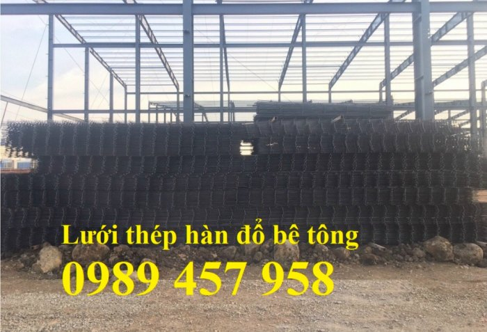 Sản xuất lưới thép hàn phi 6 200x200, Lưới hàn chập phi 8, Sắt D8 200x200, 250x2508