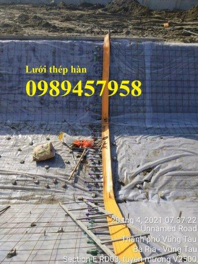 Sản xuất lưới thép hàn phi 6 200x200, Lưới hàn chập phi 8, Sắt D8 200x200, 250x2504
