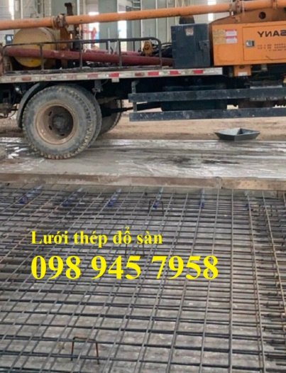 Sản xuất lưới thép hàn phi 6 200x200, Lưới hàn chập phi 8, Sắt D8 200x200, 250x2500