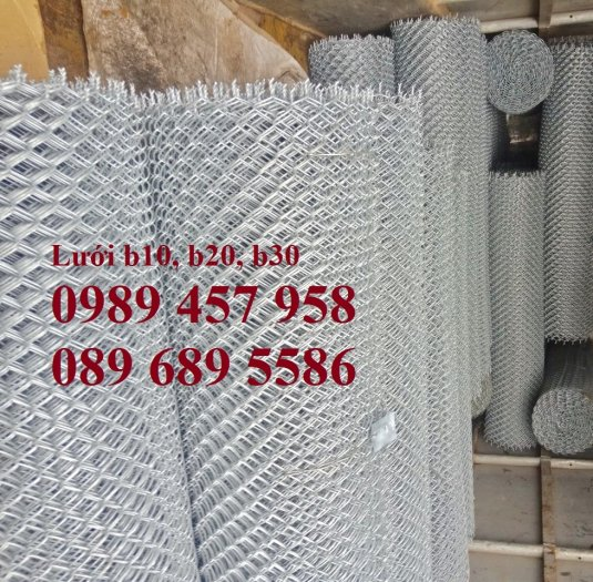 Sản xuất lưới thép B30 làm hàng rào 30x30, Lưới B30 bọc nhựa 1m83