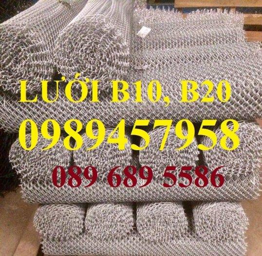 Sản xuất lưới thép B30 làm hàng rào 30x30, Lưới B30 bọc nhựa 1m81